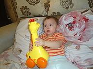 Ангелина и её любимая игрушка