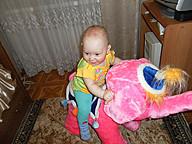 моя доченька и слоник