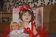 Машенька и ее кукла балерина