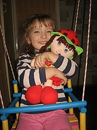 Аленушка и её любимая кукла
