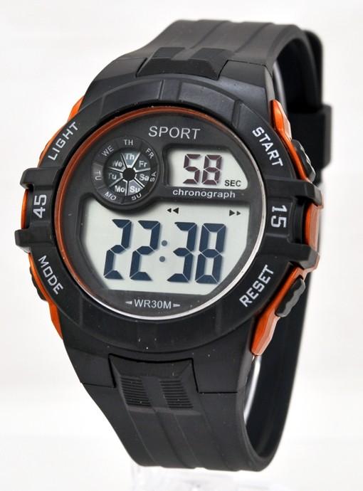 da153f7317e7 Детские наручные часы Тик-Так Н464, оранжевые (Стильные часы для ...