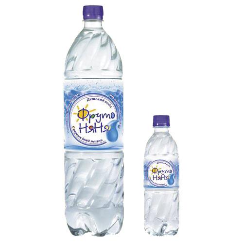 фрутоняня вода д/детей 0,33л
