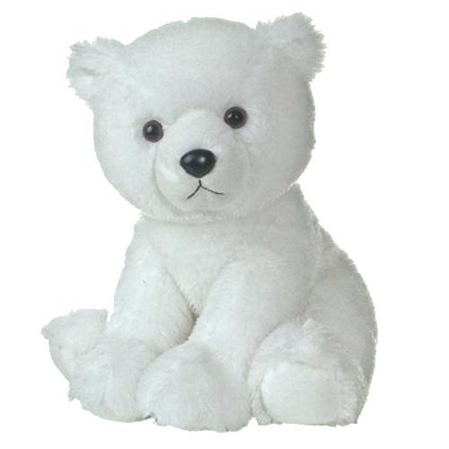 Aurora Игрушка мягкая Медведь белый 37 см ОСНОВНЫЕ