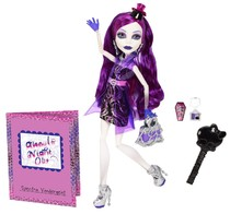 Кукла Monster High Ночь нечисти, Спектра Вондергейст
