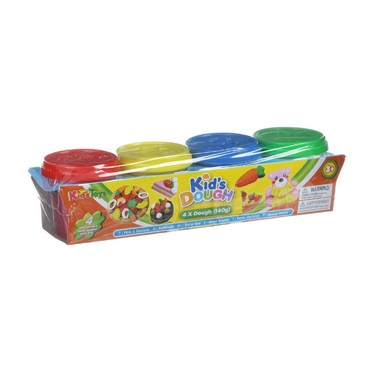 "Набор пластилина ""Kid's Dough"", 4 цвета"