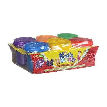 "Набор пластилина ""Kid's Dough"", 6 цветов"